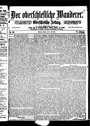 ˜Derœ Oberschlesische Wanderer vom 02.07.1899