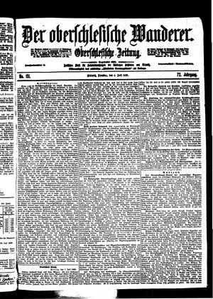 ˜Derœ Oberschlesische Wanderer vom 04.07.1899