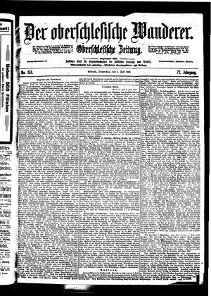 ˜Derœ Oberschlesische Wanderer vom 06.07.1899