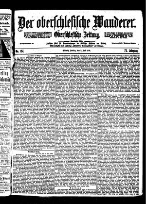 ˜Derœ Oberschlesische Wanderer vom 07.07.1899