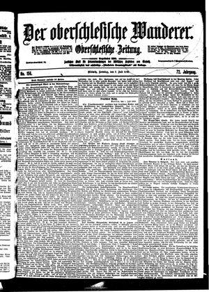 ˜Derœ Oberschlesische Wanderer vom 09.07.1899