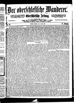 ˜Derœ Oberschlesische Wanderer vom 11.07.1899