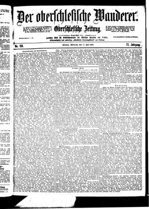 ˜Derœ Oberschlesische Wanderer vom 12.07.1899