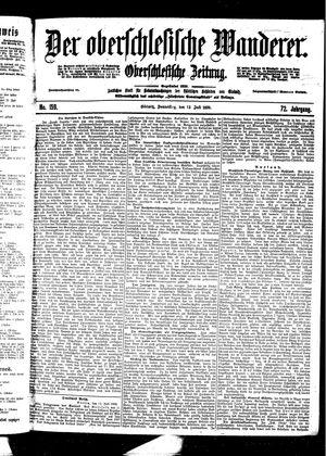 ˜Derœ Oberschlesische Wanderer vom 13.07.1899