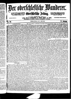 ˜Derœ Oberschlesische Wanderer vom 14.07.1899