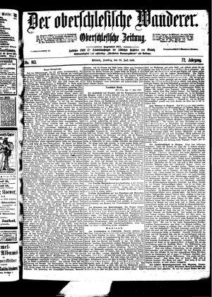 ˜Derœ Oberschlesische Wanderer vom 18.07.1899