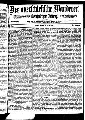 ˜Derœ Oberschlesische Wanderer vom 19.07.1899