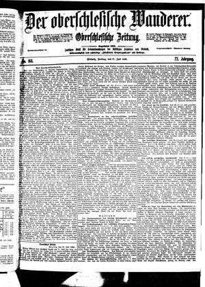 ˜Derœ Oberschlesische Wanderer vom 21.07.1899