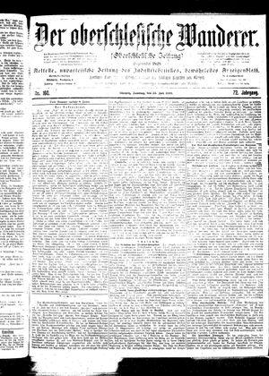 ˜Derœ Oberschlesische Wanderer vom 23.07.1899