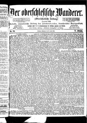˜Derœ Oberschlesische Wanderer vom 26.07.1899