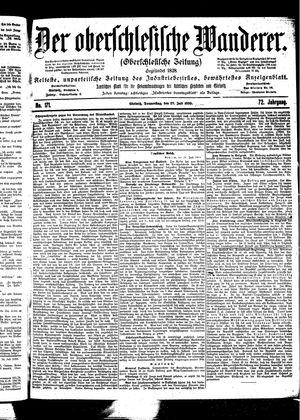 ˜Derœ Oberschlesische Wanderer vom 27.07.1899