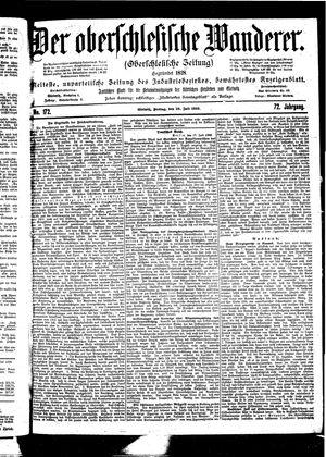 ˜Derœ Oberschlesische Wanderer vom 28.07.1899