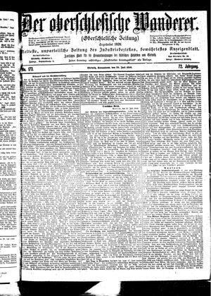 ˜Derœ Oberschlesische Wanderer vom 29.07.1899