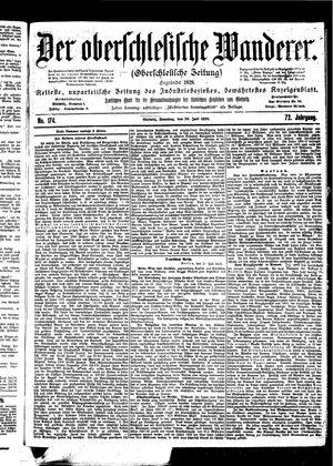 ˜Derœ Oberschlesische Wanderer vom 30.07.1899