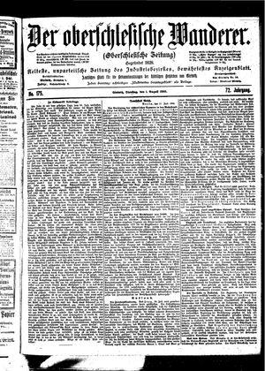 ˜Derœ Oberschlesische Wanderer vom 01.08.1899