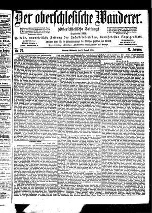 ˜Derœ Oberschlesische Wanderer vom 02.08.1899