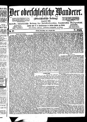 ˜Derœ Oberschlesische Wanderer vom 03.08.1899