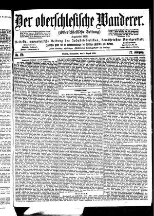 ˜Derœ Oberschlesische Wanderer vom 05.08.1899