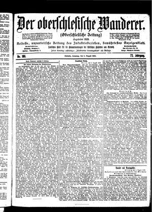 ˜Derœ Oberschlesische Wanderer vom 06.08.1899