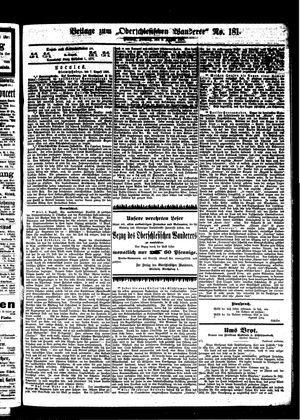 ˜Derœ Oberschlesische Wanderer vom 08.08.1899