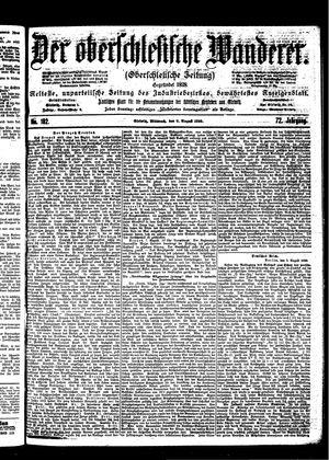 ˜Derœ Oberschlesische Wanderer vom 09.08.1899