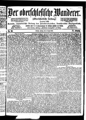 ˜Derœ Oberschlesische Wanderer vom 11.08.1899