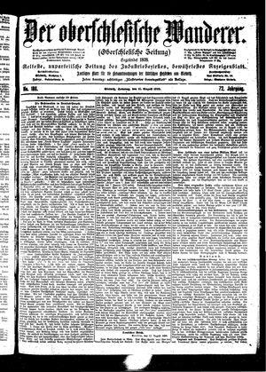 ˜Derœ Oberschlesische Wanderer vom 13.08.1899