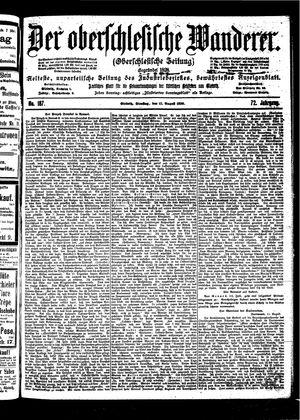 ˜Derœ Oberschlesische Wanderer vom 15.08.1899