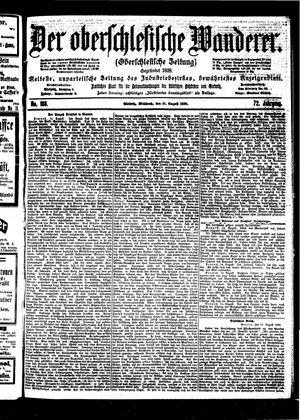 ˜Derœ Oberschlesische Wanderer vom 16.08.1899