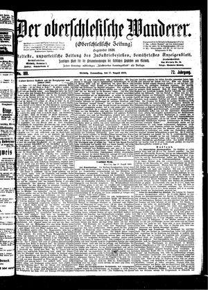 ˜Derœ Oberschlesische Wanderer vom 17.08.1899