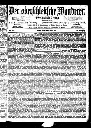 ˜Derœ Oberschlesische Wanderer vom 18.08.1899