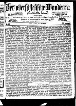 ˜Derœ Oberschlesische Wanderer vom 19.08.1899