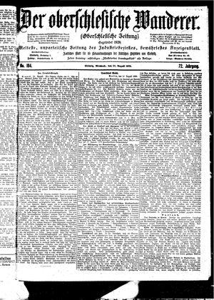 ˜Derœ Oberschlesische Wanderer vom 23.08.1899