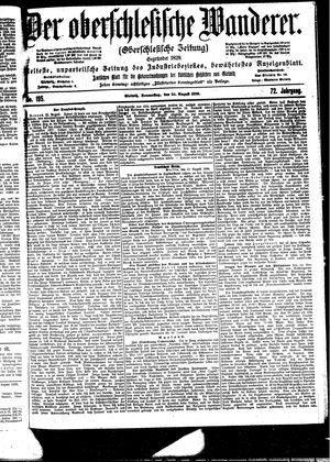 ˜Derœ Oberschlesische Wanderer vom 24.08.1899