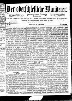 ˜Derœ Oberschlesische Wanderer vom 25.08.1899