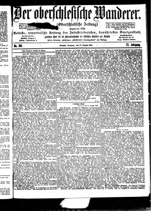 ˜Derœ Oberschlesische Wanderer vom 27.08.1899