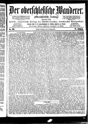 ˜Derœ Oberschlesische Wanderer vom 30.08.1899