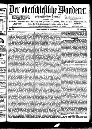 ˜Derœ Oberschlesische Wanderer vom 31.08.1899