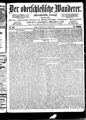 ˜Derœ Oberschlesische Wanderer vom 02.09.1899