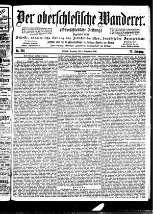 ˜Derœ Oberschlesische Wanderer vom 03.09.1899