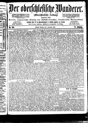 ˜Derœ Oberschlesische Wanderer vom 05.09.1899