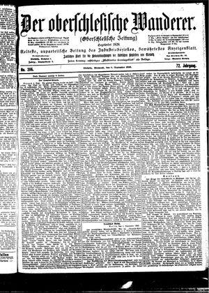 ˜Derœ Oberschlesische Wanderer vom 06.09.1899