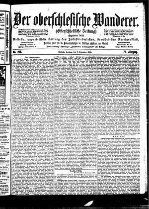 ˜Derœ Oberschlesische Wanderer vom 08.09.1899