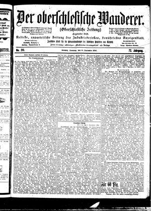 ˜Derœ Oberschlesische Wanderer vom 10.09.1899