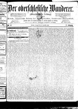 ˜Derœ Oberschlesische Wanderer vom 12.09.1899