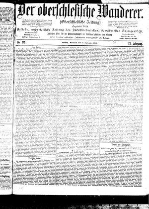 ˜Derœ Oberschlesische Wanderer vom 13.09.1899