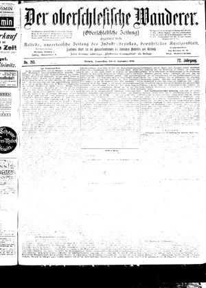 ˜Derœ Oberschlesische Wanderer vom 14.09.1899