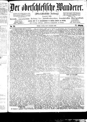 ˜Derœ Oberschlesische Wanderer vom 15.09.1899