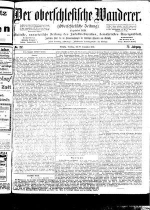˜Derœ Oberschlesische Wanderer vom 19.09.1899