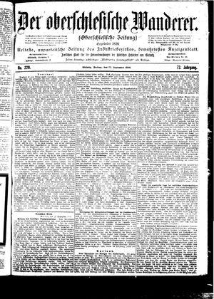 ˜Derœ Oberschlesische Wanderer vom 22.09.1899